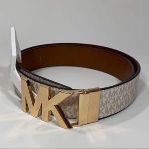 Michael kors women's Reversible leather belt